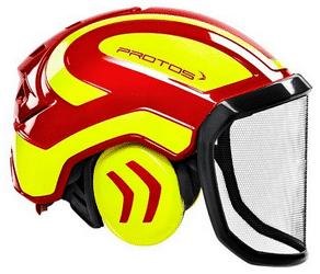 casque de protection avec visière