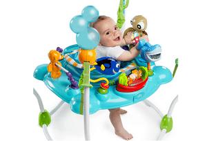 Test et avis sur le sauteur bébé Bright Starts Disney Le monde de Némo