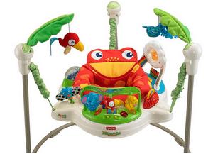 Test et avis sur le sauteur bébé Fisher-Price Jumperoo Jungle Trotteur Bébé